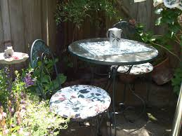 Orchard Supply Patio Furniture by From The Heart Crafts My Little Patio Garden