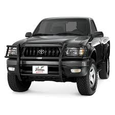 Westin® - Toyota Tacoma 1998-2004 Sportsman Black Grille Guard Big Country Truck Accsories Go Rhino Grille Guard Custom Trucks Hdx Westin Automotive 19972006 Wrangler Tj Grill Guards Quadratec Brush And Push Bumpers In Gonzales La Kgpin Autosports Pickup Outfitters Of Waco Blacked Out 2017 Ford F150 With Topperking Vehicle Accsories Winch Style By Industries 12016 F250 F350 Light Mounts