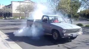 100 1982 Toyota Truck NEW 300 Toyota Pickup Burnout YouTube