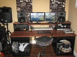 diy desk build inspired by many gearslutz pro audio community