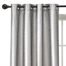 Target Threshold Window Curtains by Threshold Banded Faux Silk Window Panel 54
