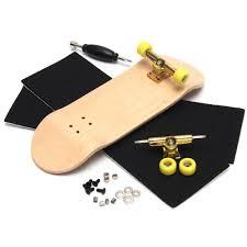 Dasar Lengkap Kayu Fingerboard Jari Scooter With Bearing Grit Kotak ...