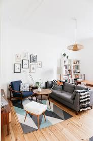 un appartement vintage et diy wohnzimmer design kleine