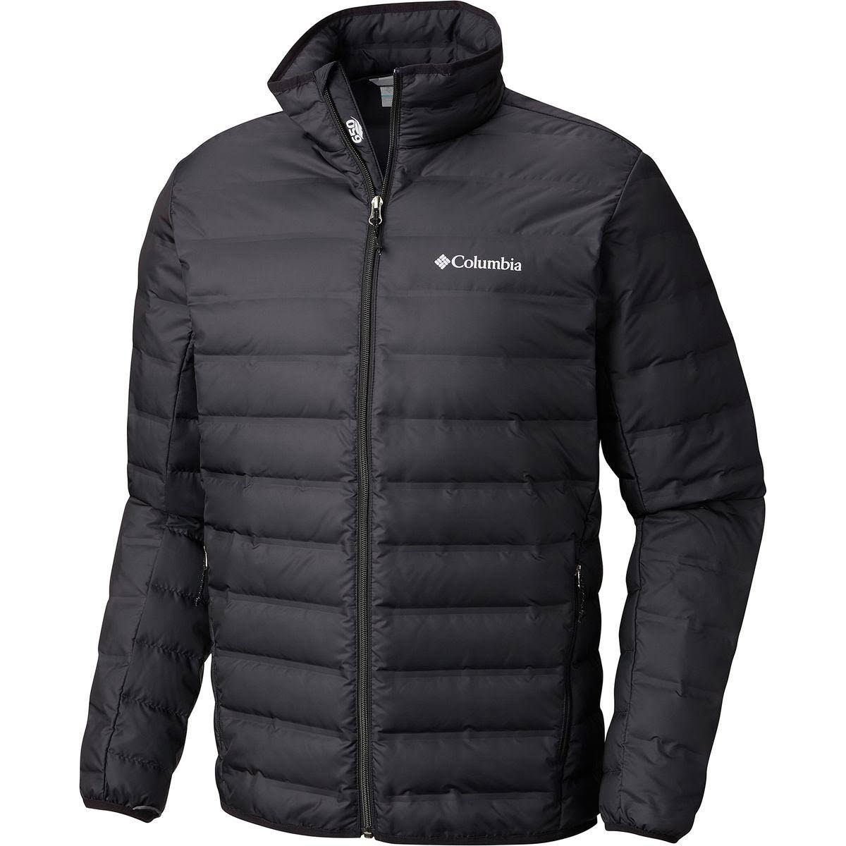 Columbia Men's Lake 22 Down Jacket - Black, Medium