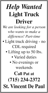 Truck Driver, St. Vincent De Paul Thrift Store, Ironwood, MI Choosing The Best Trucking Company To Work For Good Truck Driving How To Write A Perfect Driver Resume With Examples Drivejbhuntcom And Ipdent Contractor Job Search At Follow Typical Day Posting Regional Local Parttime Positions Avaliable Inexperienced Jobs Roehljobs J B Hunt Part Time Youtube What Does Teslas Automated Mean For Truckers Wired Annual Wages Jump 57 Since 2016 Truckscom Tg Stegall Inc Hiring Drivers In Charlotte Nc Driver Wikipedia