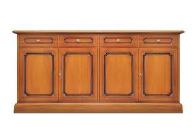 sideboard 4 türen 4 schubladen anrichte breite 2 meter esszimmer küche wohnzimmer anrichte möbel im stil aus holz montiert b201xt40xh96 cm