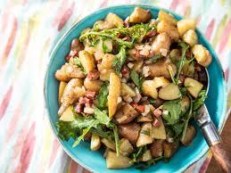 Fingerling Potato Salad With Chorizo Onion And Arugula Recipe