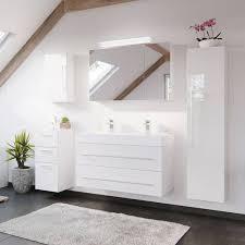 badezimmer serie lissabon 02 in weiß hochglanz selbst zusammenstelle