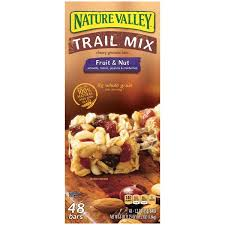 Nature Valley Fruit Nut Trail Mix Chewy Granola Bars