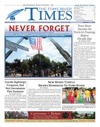 Pumpkin Farms Toms River Nj by 2016 09 17 The Toms River Times By Micromedia Publications Issuu