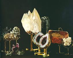 Let It Sparkle Decorating With Minerals