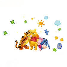 100 Winnie The Pooh Bedroom by New Arrival Winnie The Pooh Cartoon Wall Stickers Children U0027s