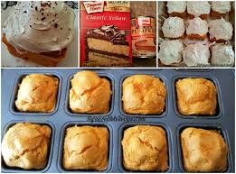Pumpkin And Cake Mix Weight Watchers by 2 Ingredient Pumpkin Cupcakes