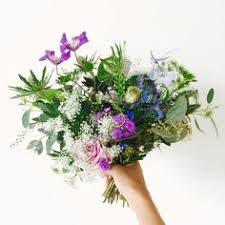 Rustic Hand Tied Bouquet By Irenecreates