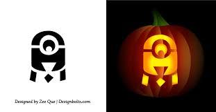 Cute Pumpkin Carving Ideas by 10 Best Free Minion Pumpkin Carving Stencils Patterns U0026 Ideas