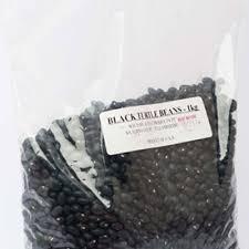 BLACK TURTLE BEANS 1kg Bag