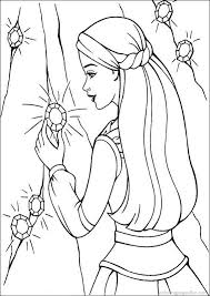 Barbie Printable Coloring Book Pages