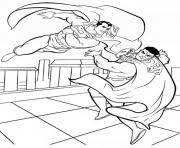 Superman Fighting Coloring Page39c6 Pages