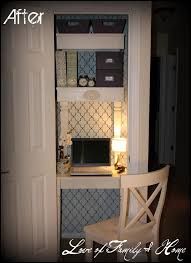 Two Amazing Closet Turned Office Makeovers