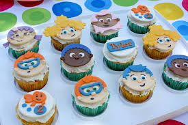Bubble Guppies Cake Toppers by Spotted Ink