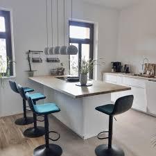 unsere küche mit insel und bar küche mykitchen u
