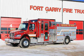 100 Freightliner Fire Trucks Hudson Bay Department Fighting In Canada