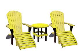 sports team outdoor poly furniture set from dutchcrafters amish
