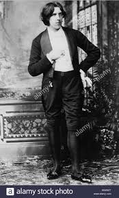 OSCAR WILDE In 1882 Shown Wearing His Costume For American Tour