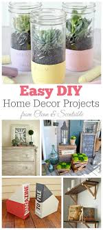 Easy DIY Home Decor Projects I Must Try Some Of These