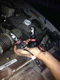 plasmaglow igniters led headlight bulb conversion install and review