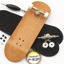 Amazon.com: Peoples Republic Cherry Complete Wooden Fingerboard W ...