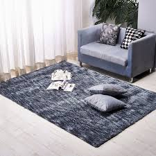 140X200CM Pastoral Solid Carpets For Living Room Home Bedroom Rugs