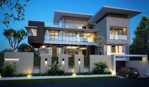 100 Modernhouse Photo Tampak Depan Exclusive Modern House 4 Desain Arsitek Oleh