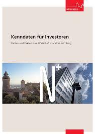 kenndaten für investoren stadt nürnberg