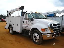2004 FORD F650 SUPER DUTY S/A SERVICE TRUCK