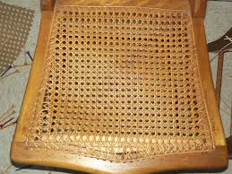 Recaning A Chair Back by Hand Caning Heritage Basket Studio