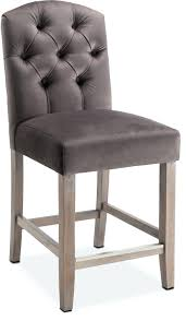 Rustic Leather Upholstered Bar Stools Without Back For ...