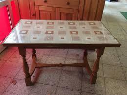 nussbaum esszimmer tisch mit glasplatte 20
