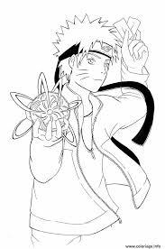 Coloriage Manga Naruto 12 JeColoriecom