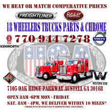 18 Wheeler Truck Parts & Chrome - 43 Photos - Auto Parts & Supplies ... Miami Star Fathers Day Event 2018 Truck Parade Invitation Youtube Fortpro Usa And Trailer Parts Welcome To 4 Enterprises Llc Sold 38ton Altec Boom Truck For Sale Crane For In Florida On Images About Usastartrkproducts Tag Instagram Ami Star Show Jordan Sales Used Trucks Inc Bumpers Cluding Freightliner Volvo Peterbilt Kenworth Kw Navistar Auto Body Collision Repair Restoration Caridcom Amistartrucks Instagram Photos Videos