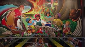 Denver International Airport Murals Removed by Denver International Airport The Conspiracy Wiki Fandom