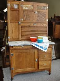 Possum Belly Kitchen Cabinet by Vintage Sellers Mastercraft Oak Kitchen Cabinet With Slag Glass