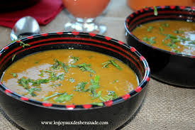 cuisine marocaine harira hrira tchicha recette algérienne les joyaux de sherazade
