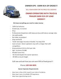 Andrew Manning - Truck Operator - Owner Operator Truck Driver | LinkedIn