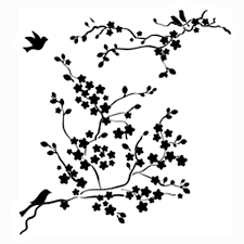 black and white cherry blossom pictures drawn sakura blossom black and white 8