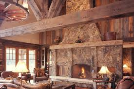 Western Homestead Ranch Living Room Rustic