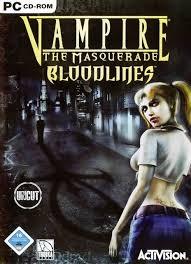 Vampire The Masquerade Bloodlines Dvd