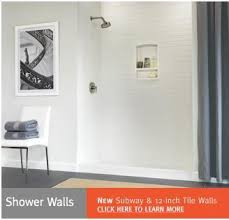 swanstone shower walls can the subway tile pattern also be used