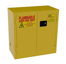 Grounding Of Flammable Cabinet Justrite by Jamco Products Inc Bm22 Yp Safety Flammable Cabinet Two Door