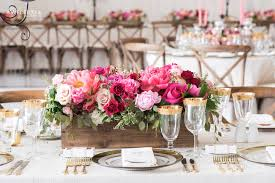 Muskoka Wedding Decor Coral Pink Flowers